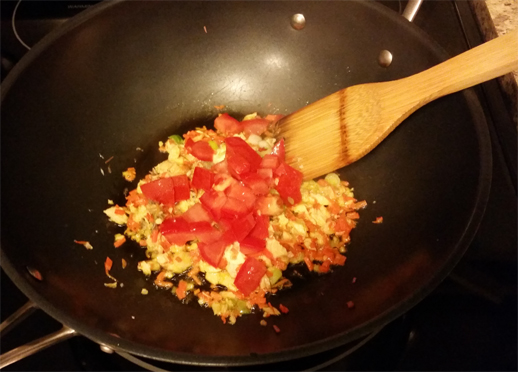how to cook fried rice in a frying pan